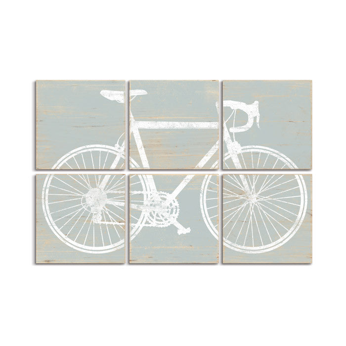 road bike wall art