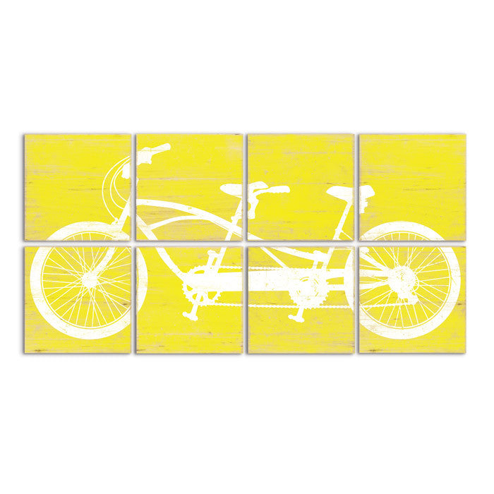 Tandem Bike Wall Art for Sale - Bicycle Art in +20 Color Options ...
