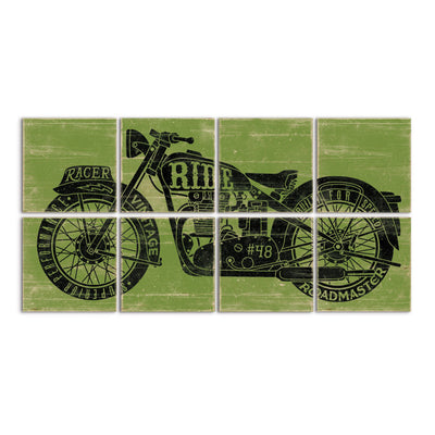 triumph motorcycle decor