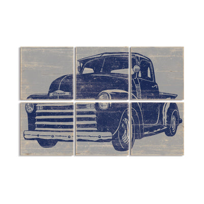 truck prints for toddler room