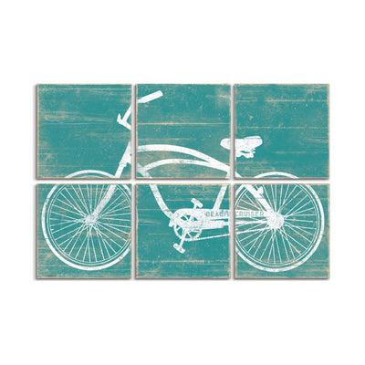 vintage bicycle art