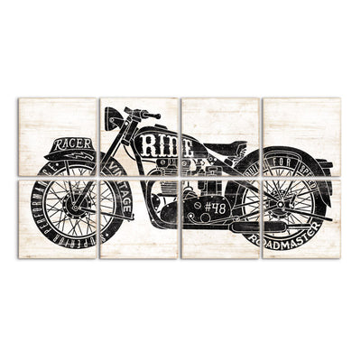 vintage motorcycle by right grain