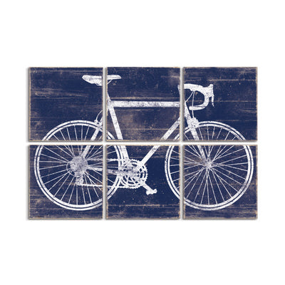 vintage road bike art