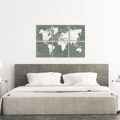 world maps for wall
