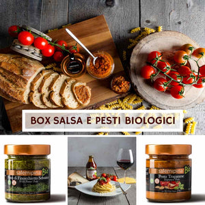 Box Salse e Pesti Biologici