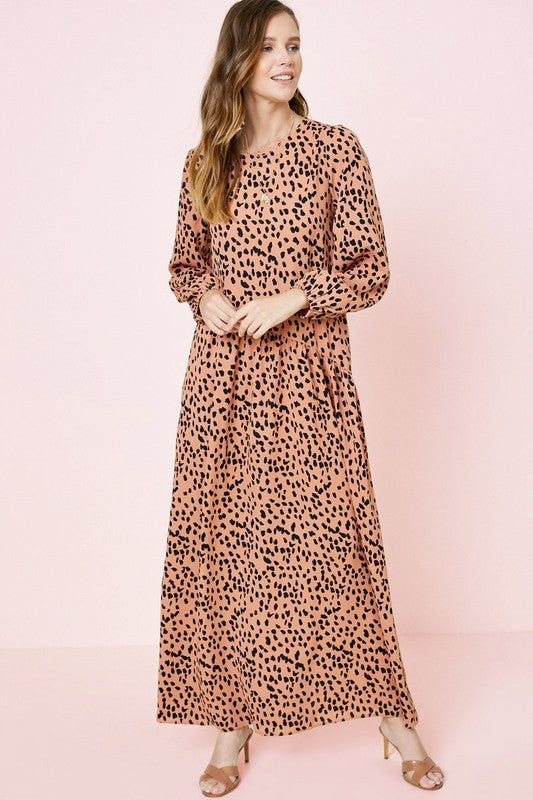 Keily Dotted Dress