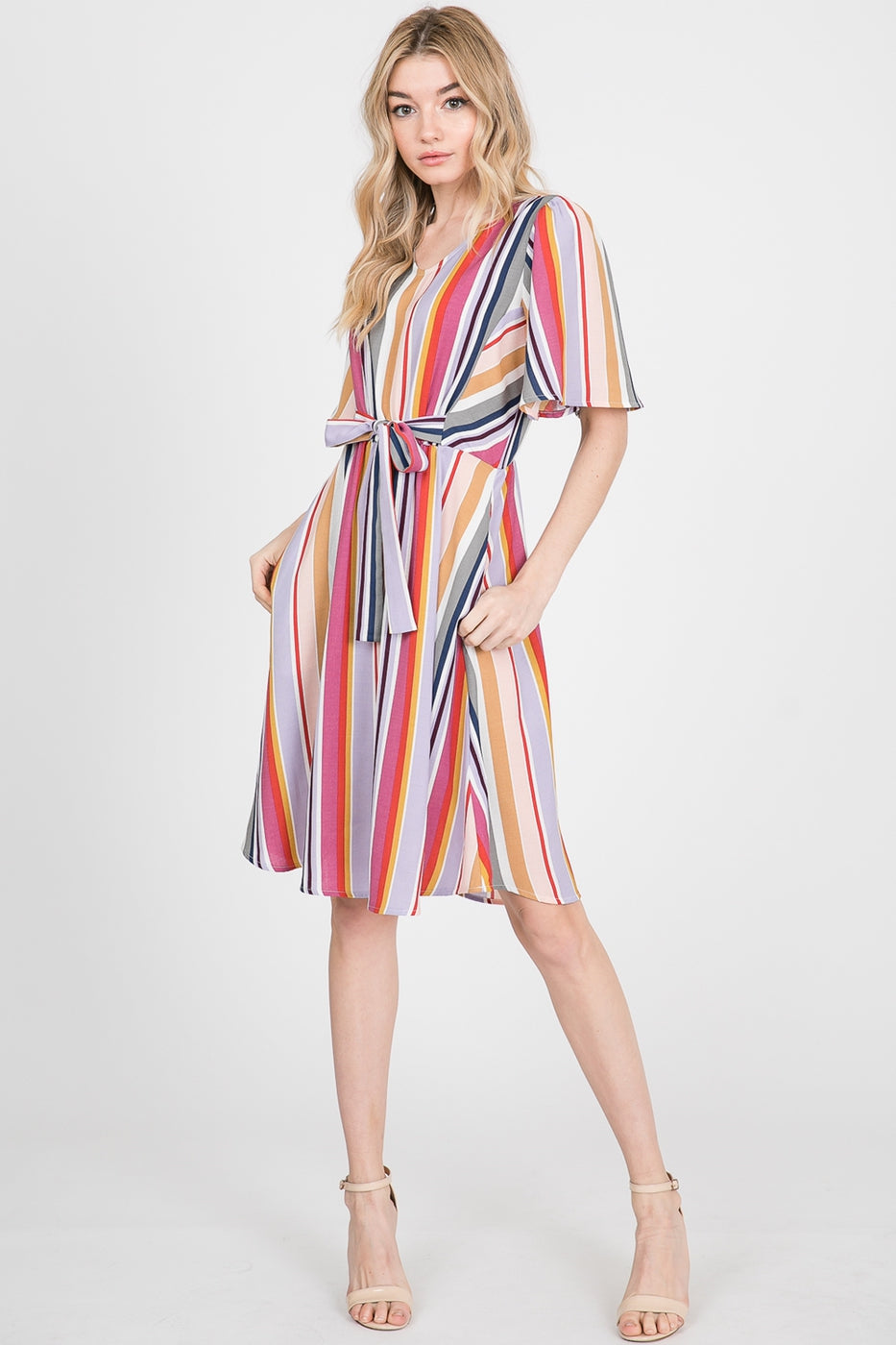 Amora Striped Dress