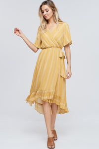 Darlene Dress in Mustard