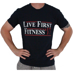 Men's Live First Campaign Crew Neck T-Shirt - Live First Fitness