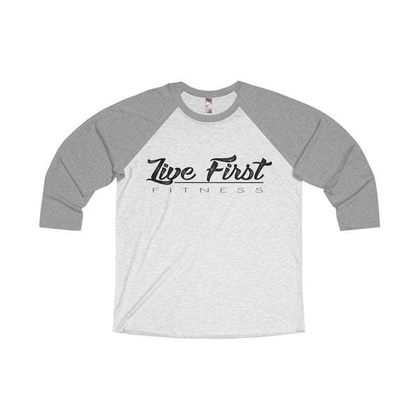 Women's Live First Fitness Baseball Tee - Live First Fitness