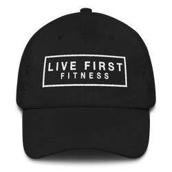 Live First Fitness Cotton Baseball Hat - Live First Fitness