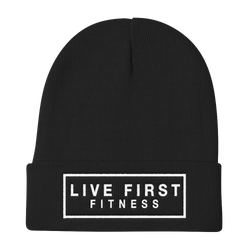 Live First Fitness Knit Beanie - Live First Fitness