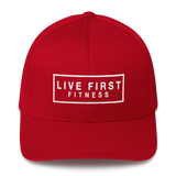 Live First Fitness Structured Twill Cap - Live First Fitness