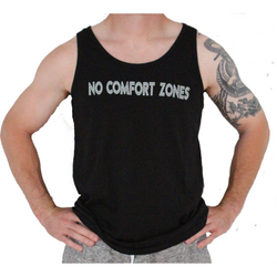 Men's No Comfort Zones Jersey Tank - Live First Fitness