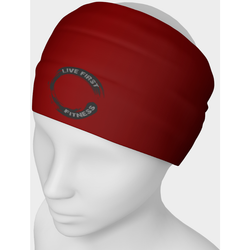 Live First Fitness Enso Logo Headband - Live First Fitness