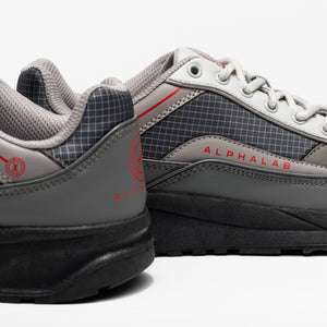 WAVERUNNER Trainer - Dark Grey/Light Grey/Red