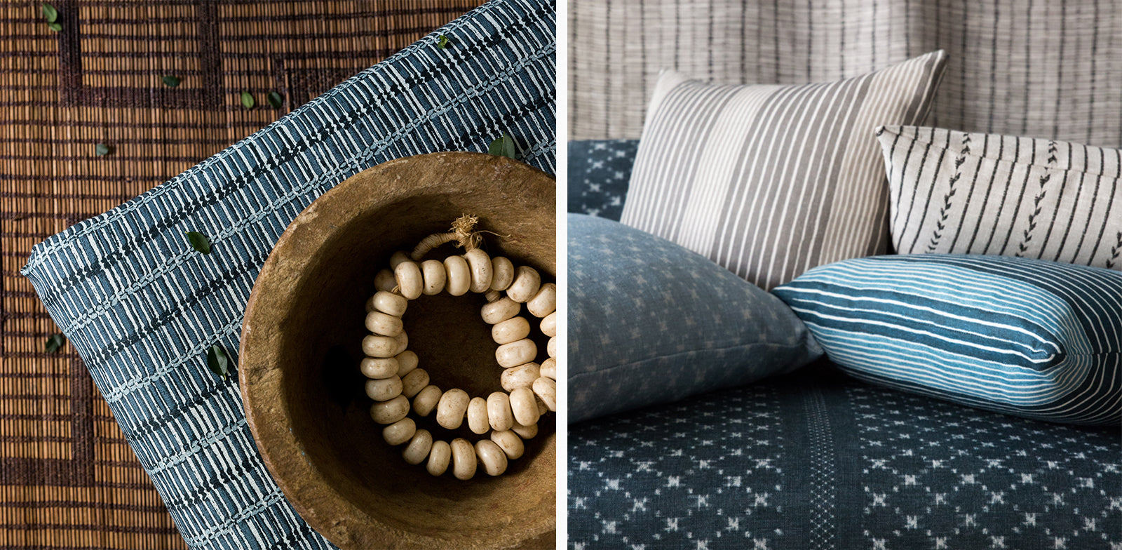 AS A TEXTILE DESIGNER, HOW DO YOU LIVE WITH PATTERN IN YOUR HOME?