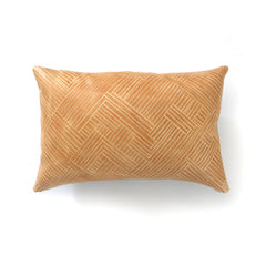 Loom Leather Pillow