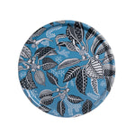 Fig Blue Round Tray