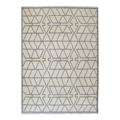 Stacked Triangles Rug