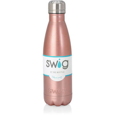 Swig 17oz Bottle - Rose Gold