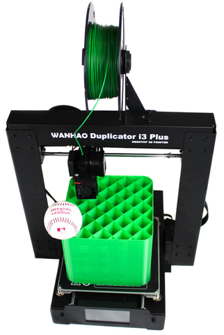 Duplicator i3 Plus Build Size