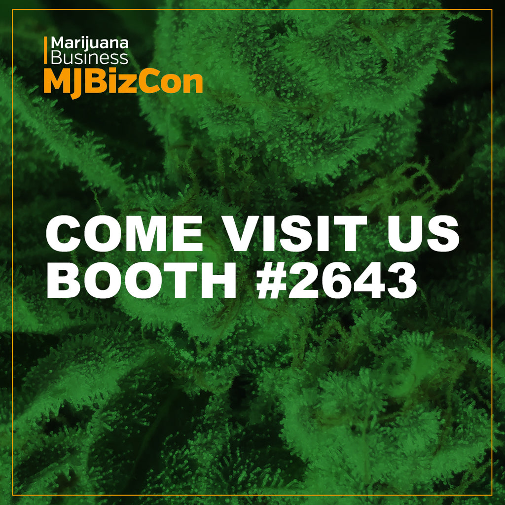 Visit us at MjBizCon booth #2643