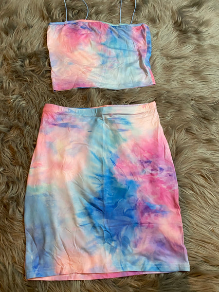 Cotton candy 2 piece set