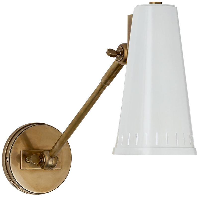 THOMAS O'BRIEN ANTONIO ADJUSTABLE ONE ARM WALL LAMP
