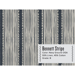BENNETT STRIPE CURTAIN PANEL