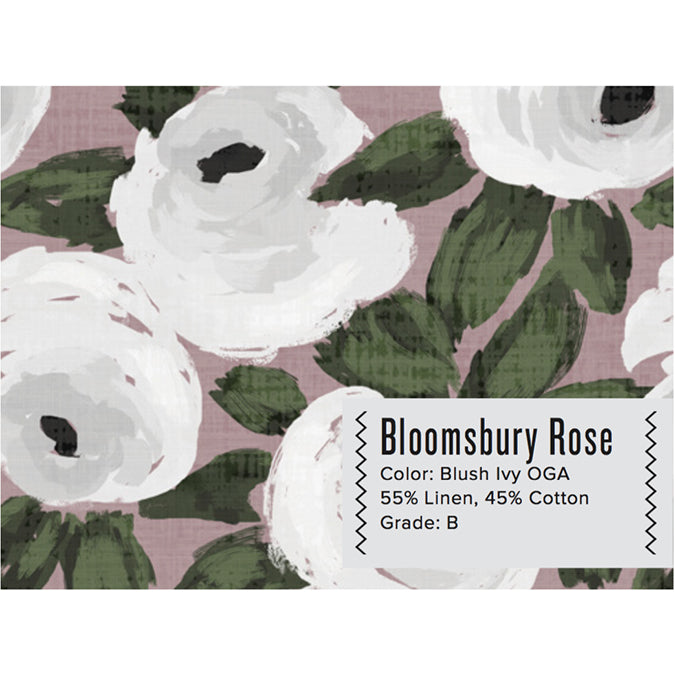 BLOOMSBURY ROSE CURTAIN PANEL