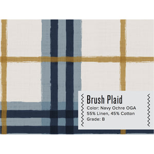 BRUSH CURTAIN PANEL