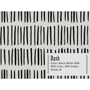 DASH : B&W CURTAIN PANEL