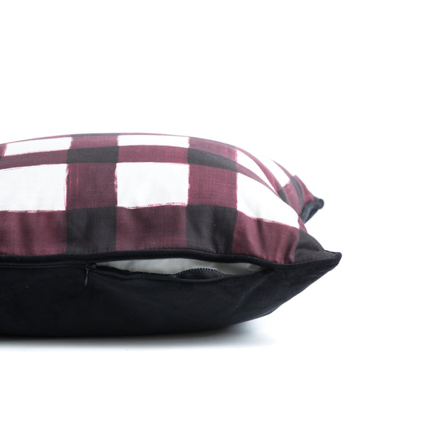 MARLOT BUFFALO PLAID THROW PILLOW