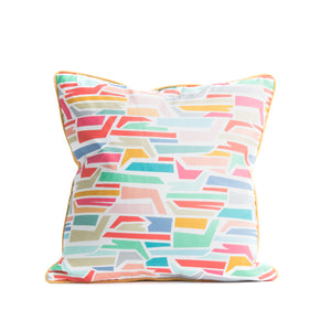 PUZZLE STACK THROW PILLOW