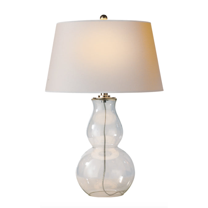 E. F. CHAPMAN OPEN BOTTOM GOURD TABLE LAMP