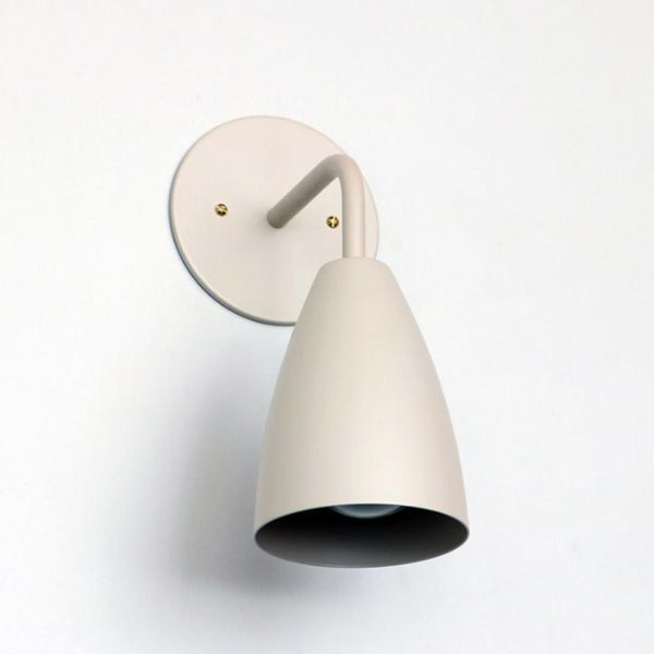 SHADED SCONCE : SOLID COLOR