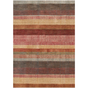 STRIPE HAND KNOTTED RUG