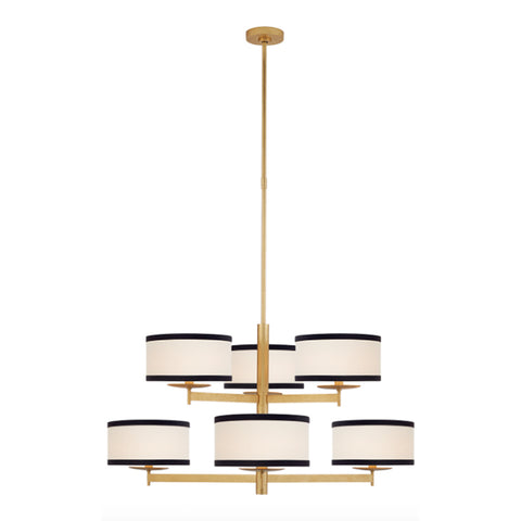 KATE SPADE NEW YORK WALKER TWO TIER CHANDELIER