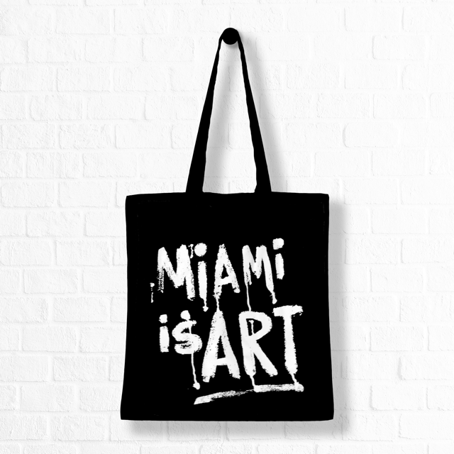 Miami is Art Bag