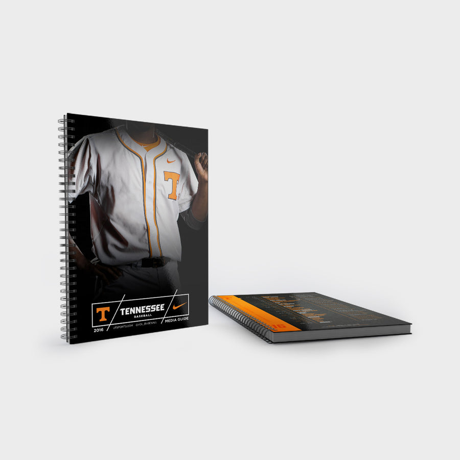 Tennessee Volunteers 2016 University of Tennessee Baseball Media Guide
