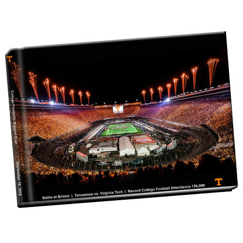 Tennessee Volunteers Battle at Bristol Photo Book