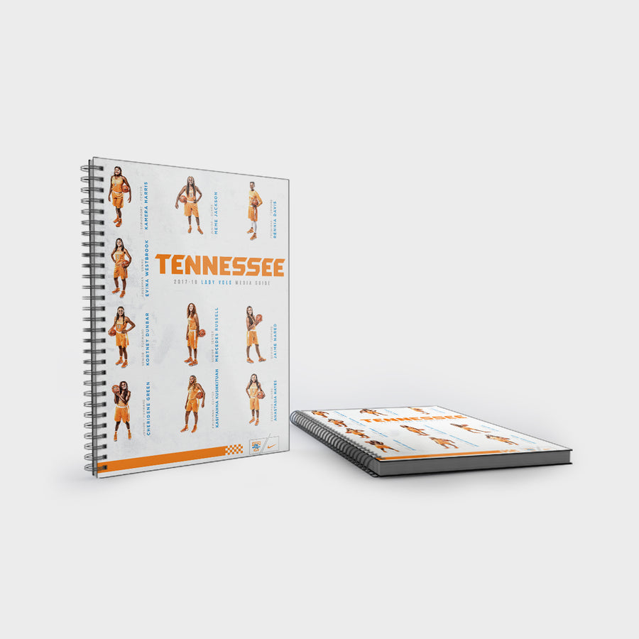 Tennessee Volunteers - 2017-18 Lady Vols Basketball Media Guide