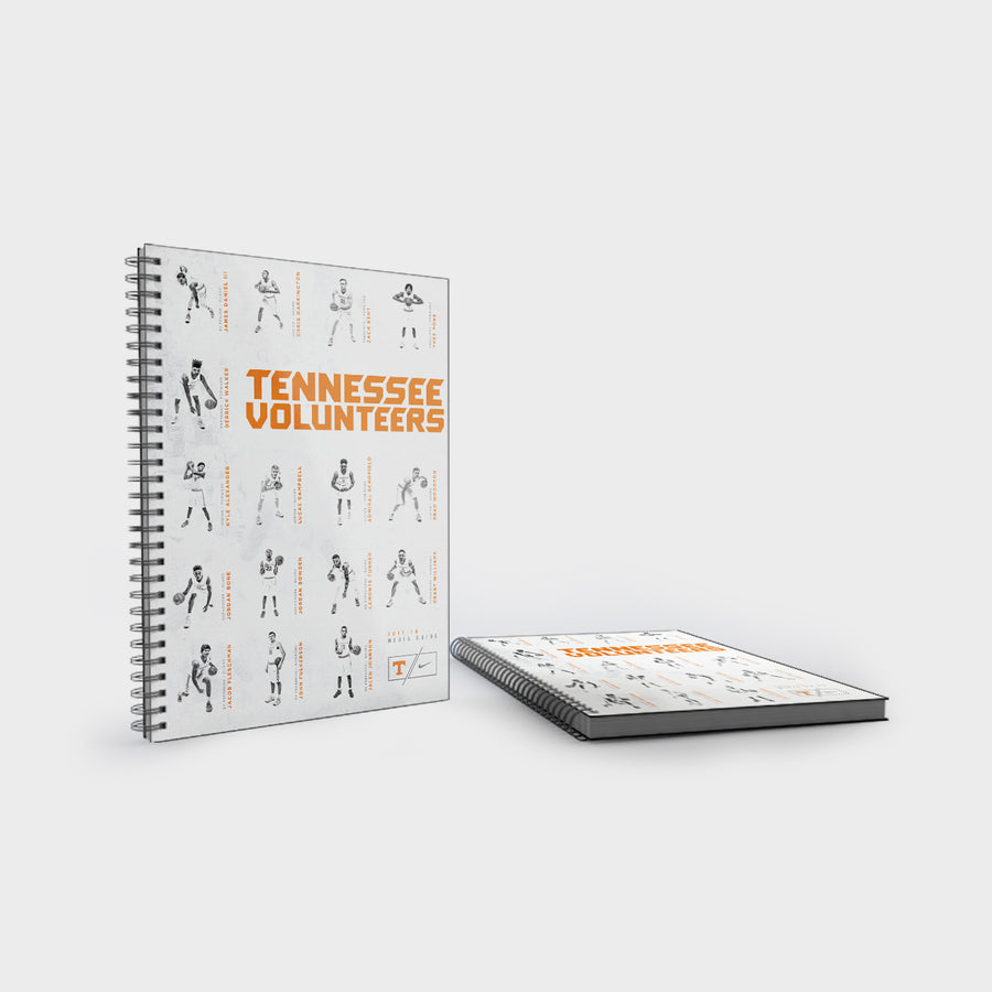 Tennessee Volunteers - 2017-18 Men's Basketball Media Guide