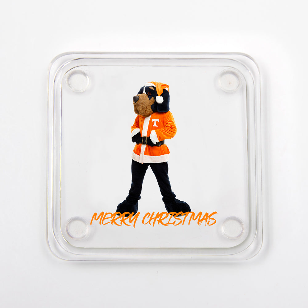 Tennessee Volunteers -  Merry Christmas Smokey Drink #Coaster