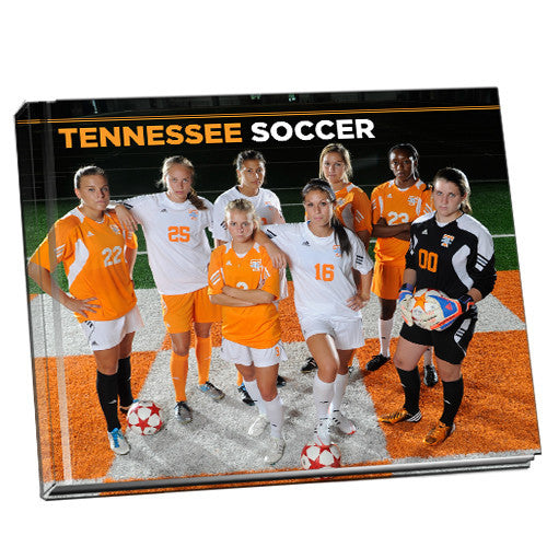 Tennessee Volunteers Lady Vols Soccer Souvenir Photo Book