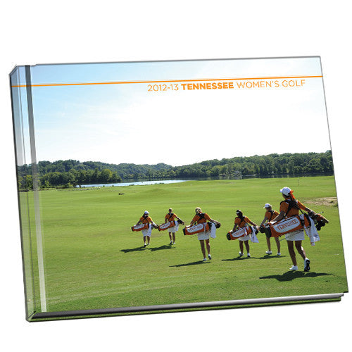 Tennessee Volunteers Lady Vols Golf Souvenir Photo Book