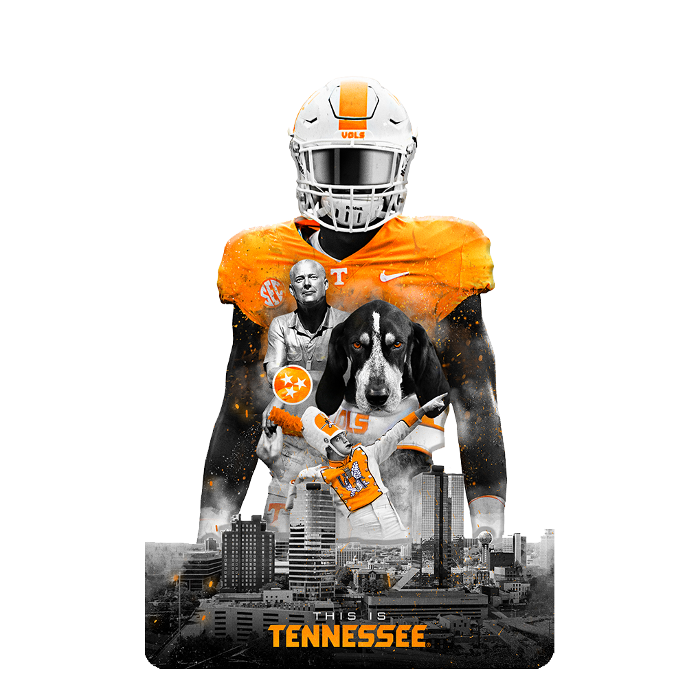 Tennessee Volunteers - This is Tennessee Dimensional Wall Art