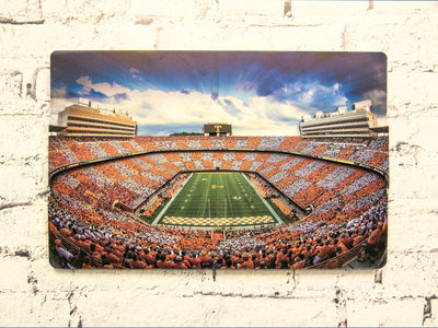 Tennessee Volunteers - Neyland Sunset Dimensional Art #Dimensional