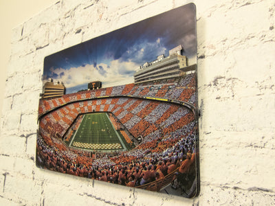Tennessee Volunteers - Neyland Sunset 3-Layer Dimensional Wall Art